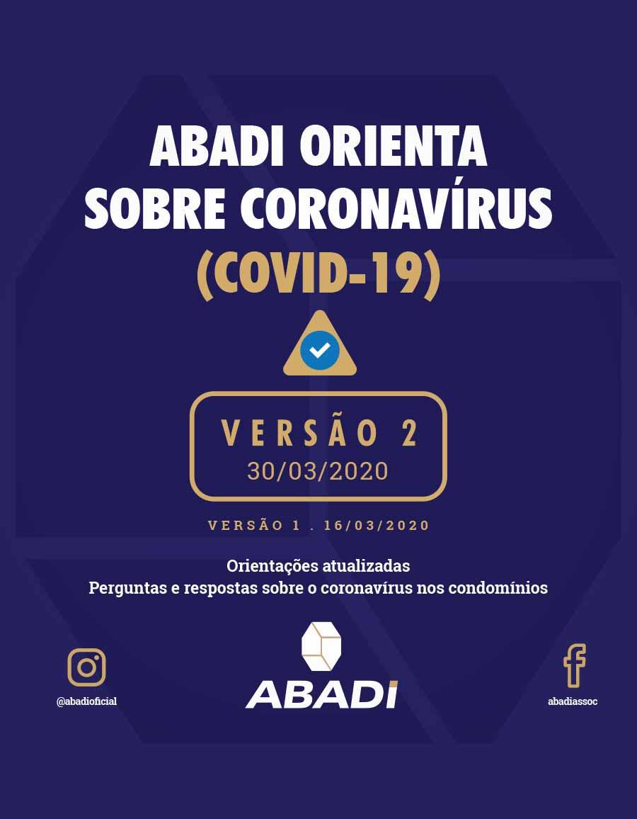 Protocolo – ABADI orienta sobre o coronavírus – 2ª Edição