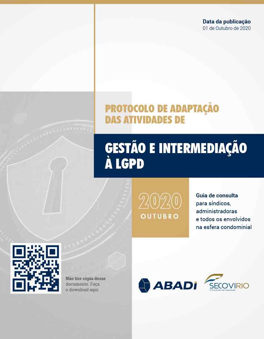 Protocolo de Adaptação das Atividades de Gestão e Intermediação à LGPD